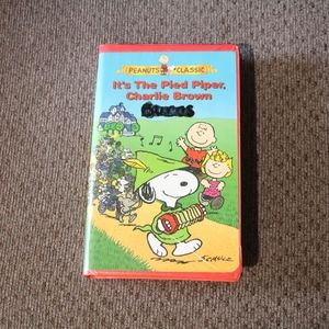Pied Piper Charlie Brown VHS